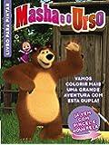 Masha e o Urso: Livro Para Pintar