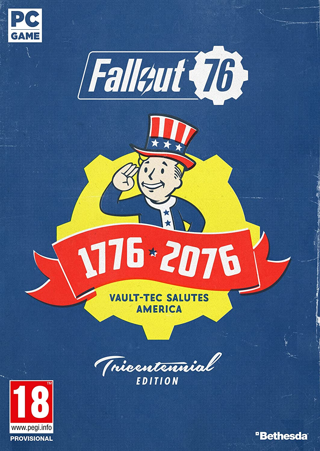 Fallout 76: Tricentennial Edition (PC Code in Box): Amazon
