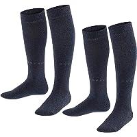 ESPRIT Foot Logo 2-Pack Calcetines Largos Unisex Niños Algodón Pack De 2 Pares