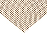 Bronze Woven Mesh Sheet, Unpolished