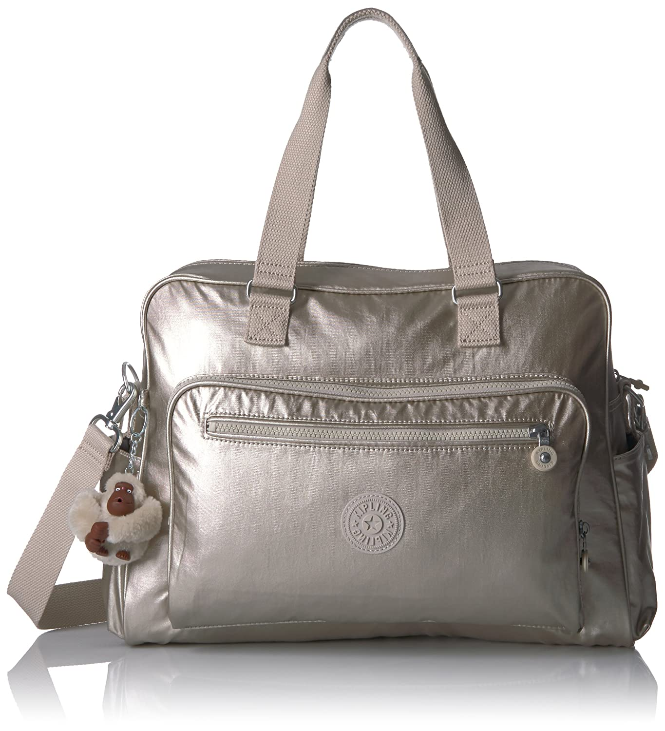 Kipling レディース B074LY8K3G Cloud Grey/Metallic