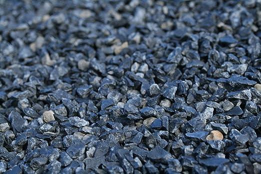 Piedra negra jardin (1000 kg, 12-24 mm): Amazon.es: Jardín