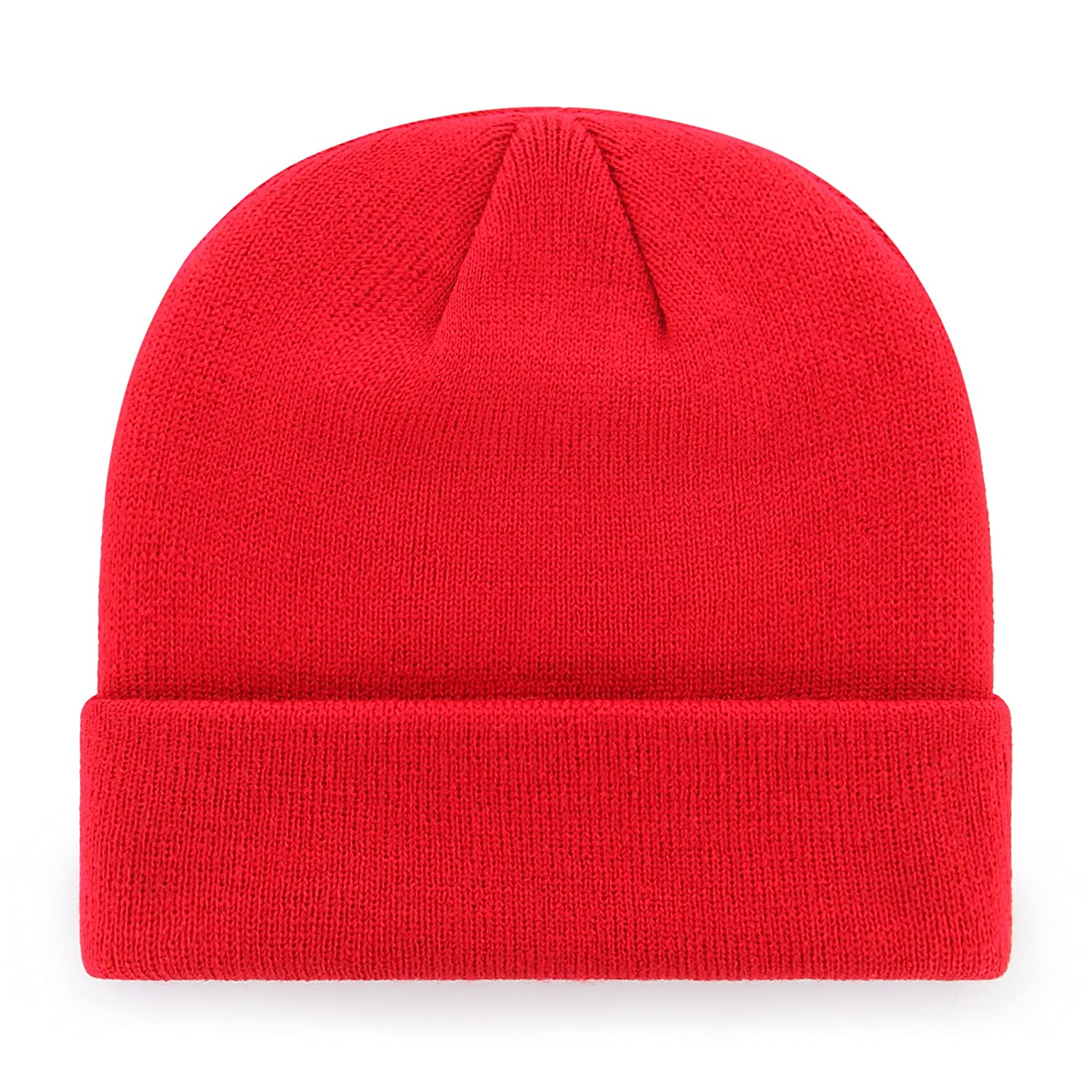 Team Color OTS Adult Mens NCAA Raised Cuff Knit Cap One Size
