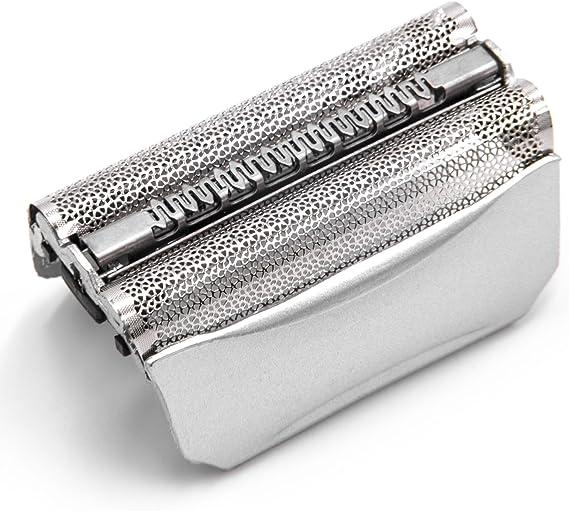 vhbw Doble lámina de afeitar con marco, plateada para maquinilla ...
