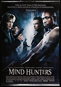 MIND HUNTERS 2004 - Theatrical Movie Poster, directed by Renny Harlin, starring Val Kilmer, LL Cool J, Christian Slater