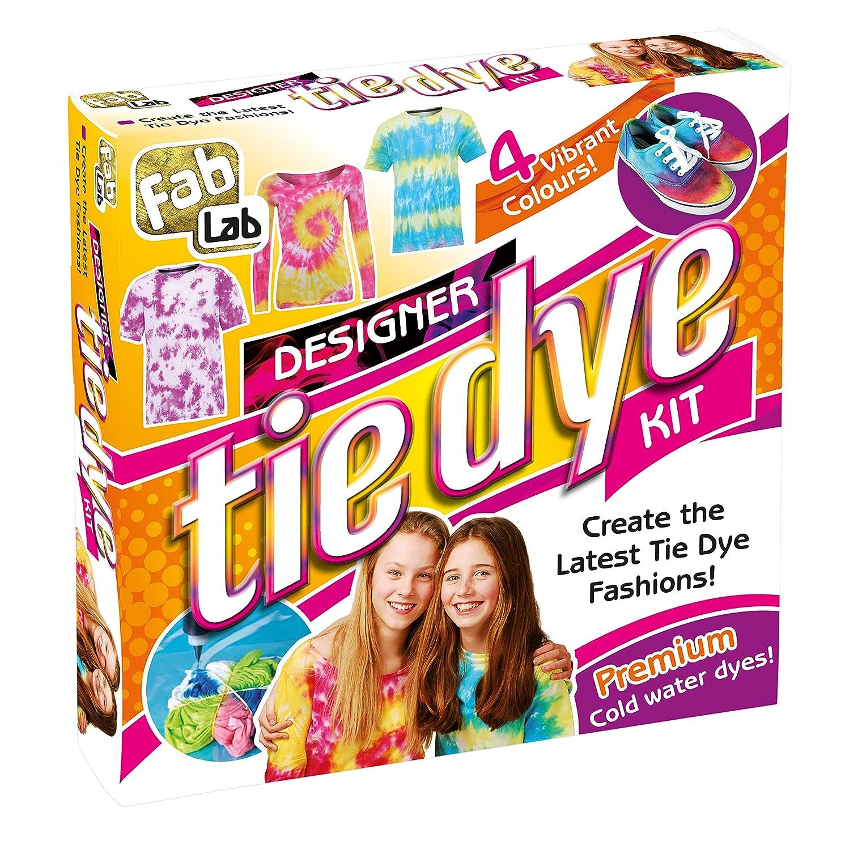 FabLab Designer Tie Dye Kit: Interplay: Amazon.co.uk: Toys & Games