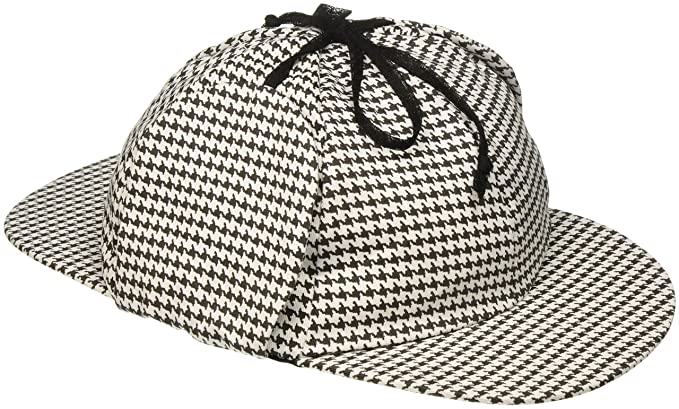 a0cc3a6fab3 Amazon.com  Jacobson Hat Company Men s Sherlock Holmes Cotton Cap ...