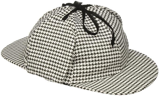 da01c94dbac Amazon.com  Jacobson Hat Company Men s Sherlock Holmes Cotton Cap ...