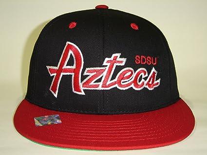 6050ac27f4e37 Amazon.com   NCAA CSUSD San Diego State Aztecs Script Black Red 2 ...