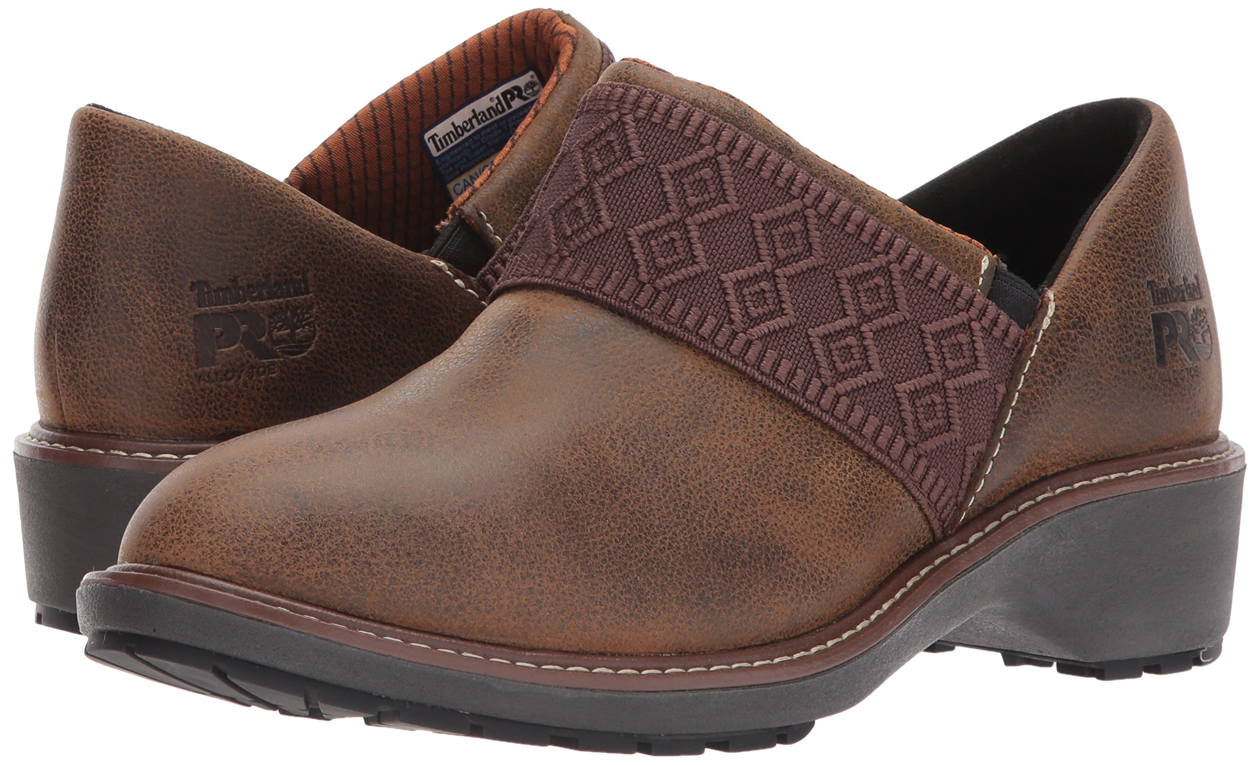 Timberland PRO Women's Riveter Alloy Toe SD+ Industrial and Construction Shoe, Dark Sudan Full Grain Leather, 7.5 M US by Timberland PRO (Image #6)