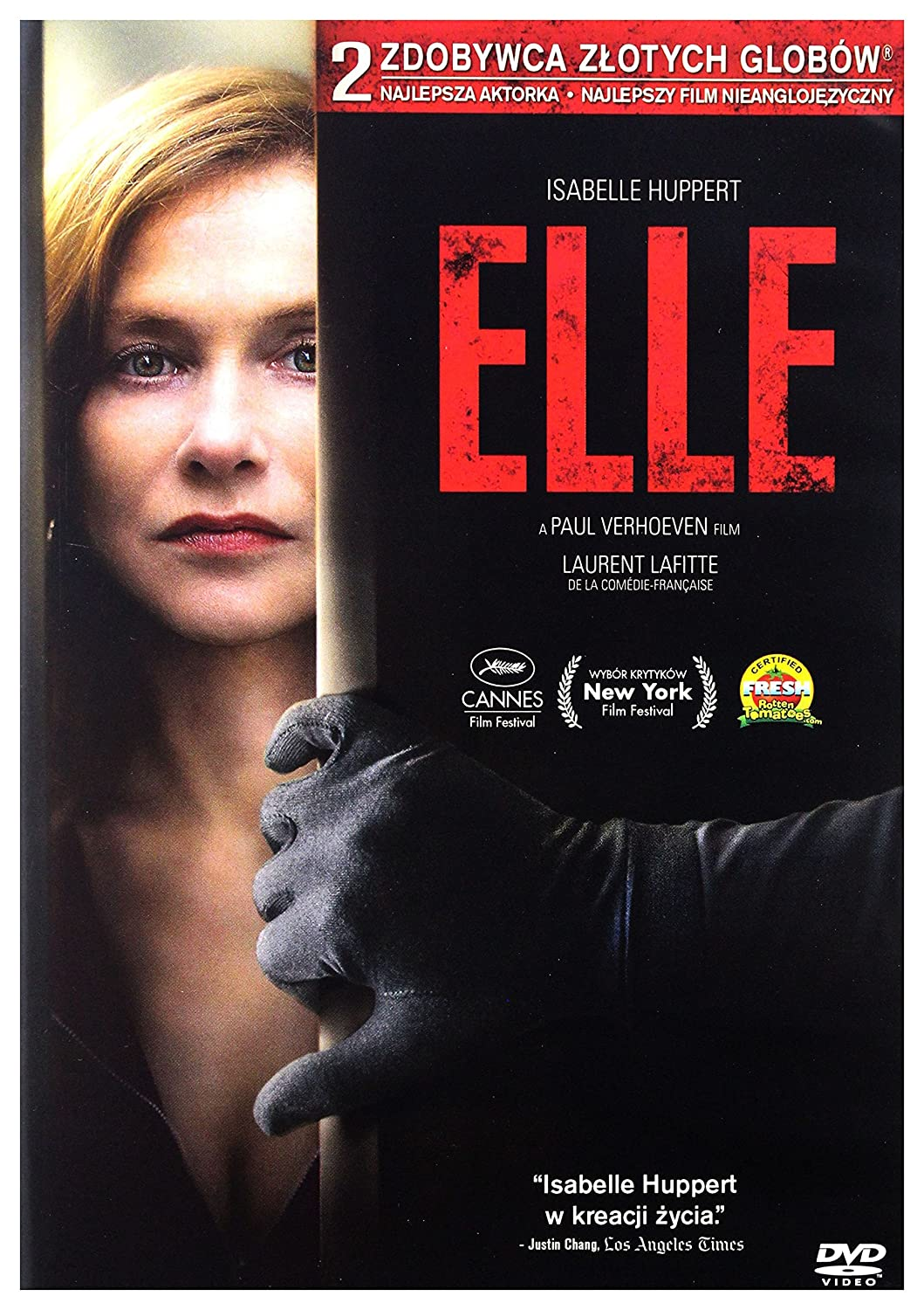 Elle Dvd English Audio Amazoncouk Isabelle Huppert Laurent