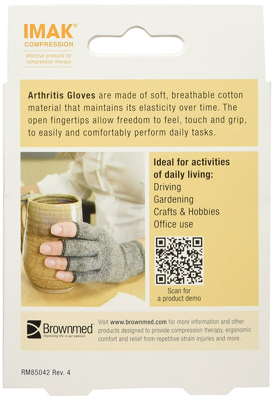 Driving gloves for arthritis - Imak Arthritis Compression Gloves Medium Amazon Co Uk Health Personal Care