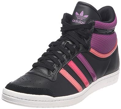 adidas Originals Top Ten Hi Sleek W, Baskets mode femme Noir