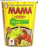 Mama - Cup Chicken Flavour - Fideos orientales sabor a pollo - 70 g