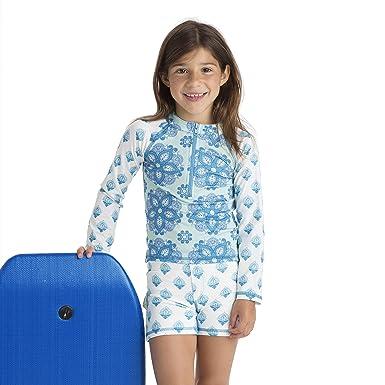 a9f4f23c98 Amazon.com: Masala Kids Girl's Swim Shorts: Clothing