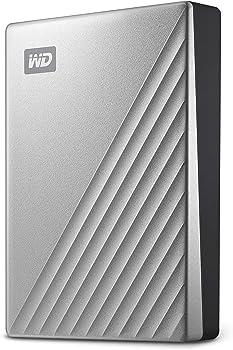 Western Digital WDBFTM0040BSL-WESN 4TB Portable Hard Drive