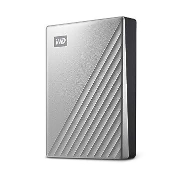 WD My Passport Ultra - Disco Duro portátil de 4 TB y USB Tipo C, Plata: Western-Digital: Amazon.es: Informática