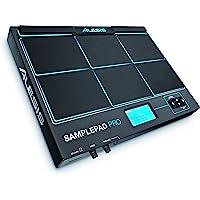 Alesis SamplePad Pro - Percussion- und Sample-Triggering-Instrument mit 8 reaktionsschnellen gummierten 2-Zonen-Pads, LED-Beleuchtung, Erweiterungsmöglichkeiten und über 200 integrierten Sounds