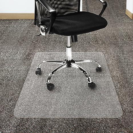 Office Marshal Polycarbonate Chair Mat For Carpet Floors, High Pile    30u0026quot; X 48u0026quot