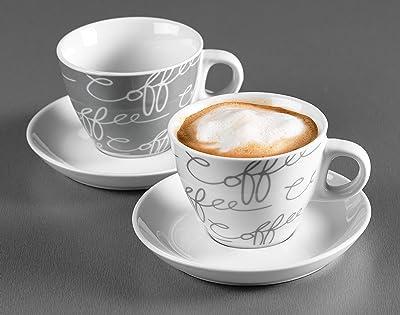 Cappuccino-Set 4-teilig als Ostergeschenk für Kaffeeliebhaber
