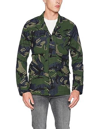 G-STAR RAW Vodan Worker Overshirt L/S, Chaqueta para Hombre: Amazon.es: Ropa y accesorios