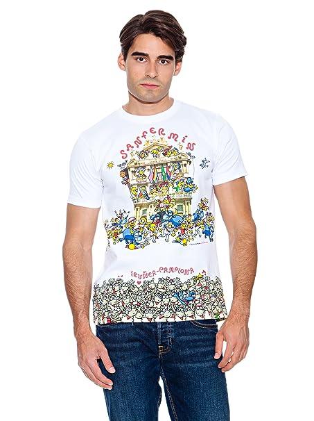 Kukuxumusu Camiseta Donan Blanco S