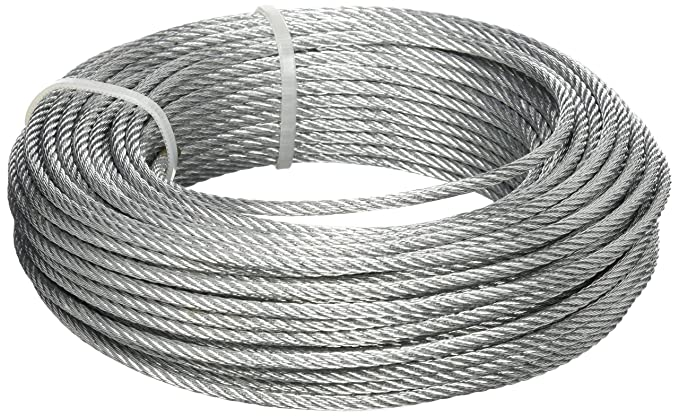 M86120G BriTools Silver Galvanised Steel Cable