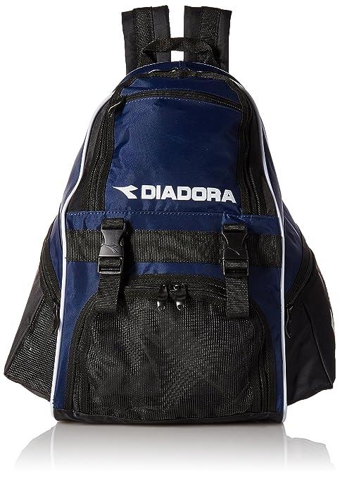 c561a6e13 Amazon.com : Diadora Junior Squadra Backpack (Navy/Black) : Soccer ...