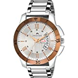 SWISSTONE Analogue Silver Dial Men's Watch - Sw-G350-Slv-Ch