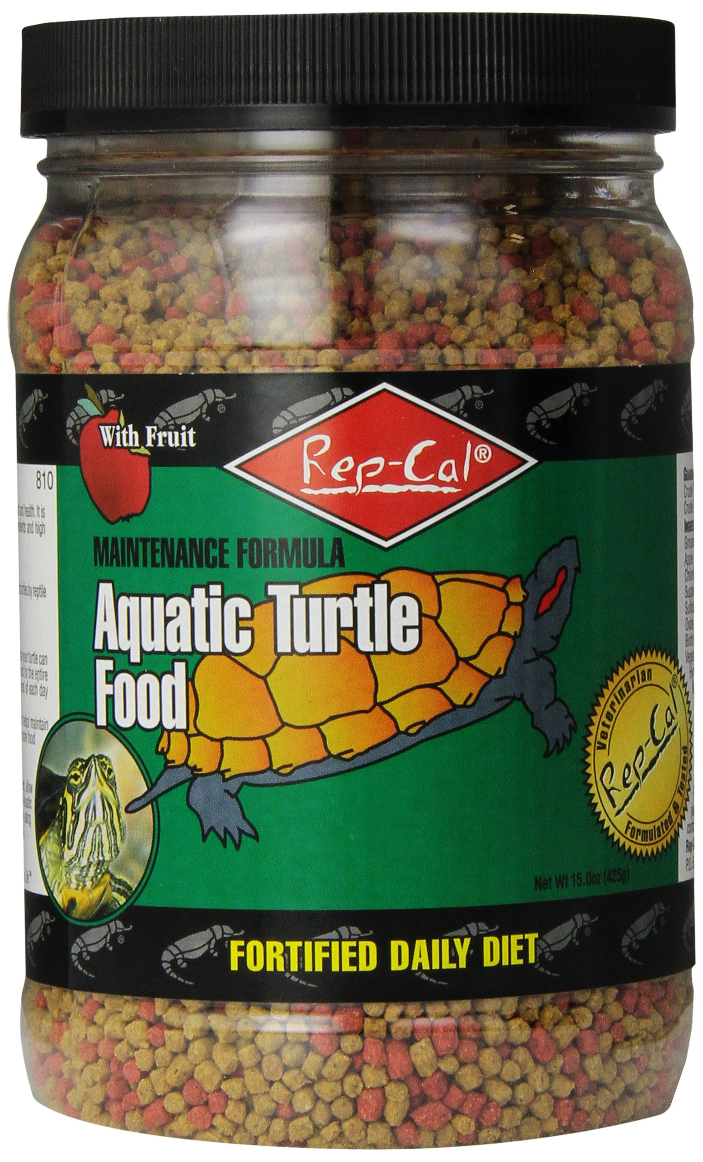 Rep-Cal SRP00810 Aquatic Turtle Food, 15-Ounce