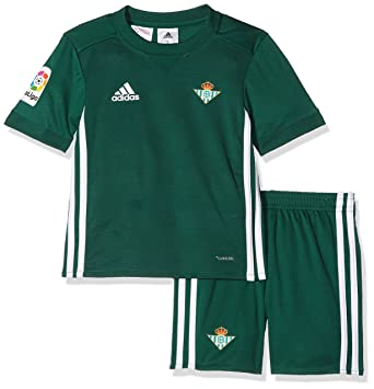 e115db1c0 Adidas Real Betis Conjunto, Unisex niños, Verde (veruni), 104-3
