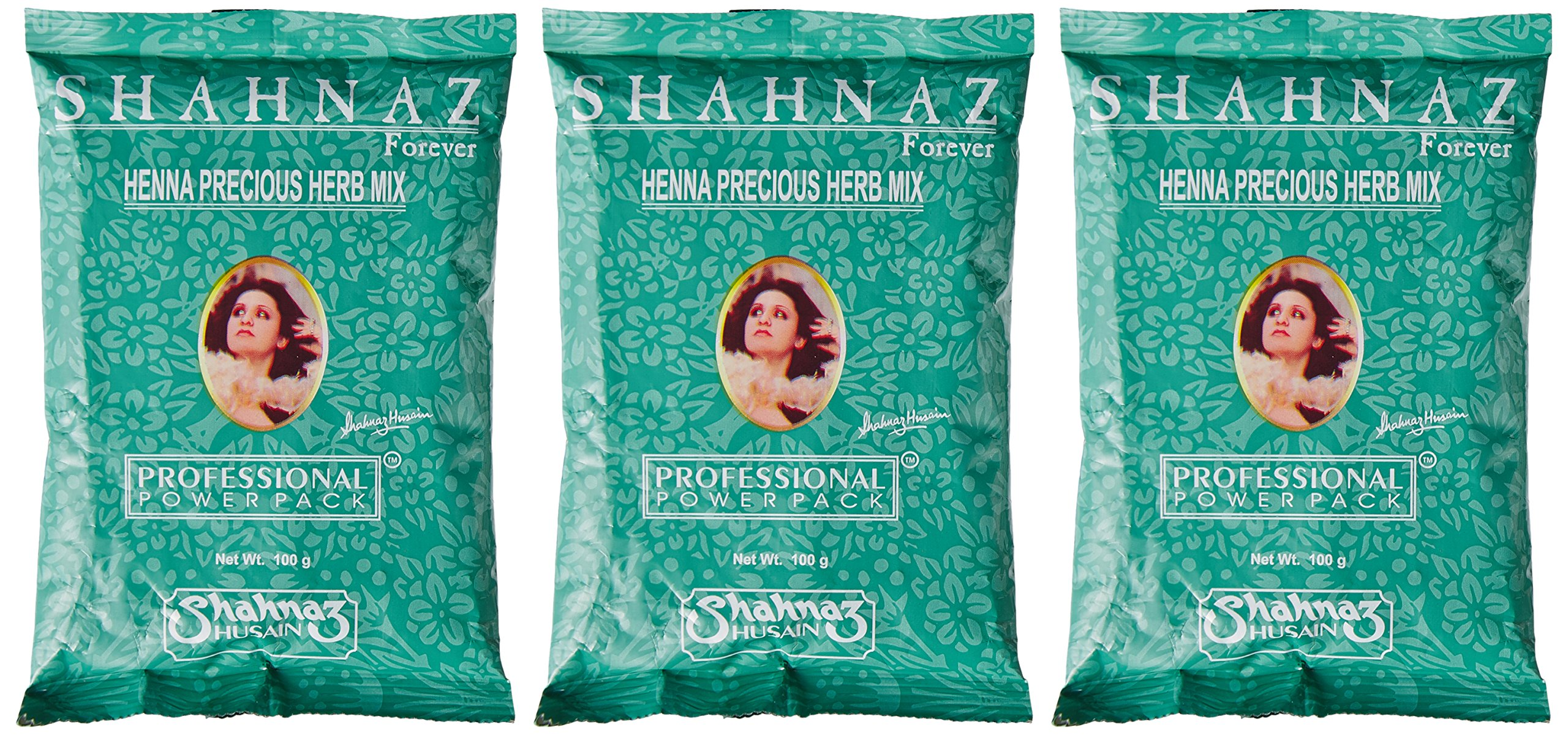 Shahnaz Husain Henna Precious Herb Mix, 100g (Buy 2 Get 1 Free) product image