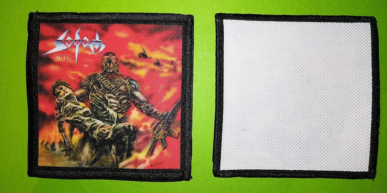 10 x 10 cm BLUE HAWAI PL0176 Ecusson Aufn/äher zum Aufn/ähen Sodom 2