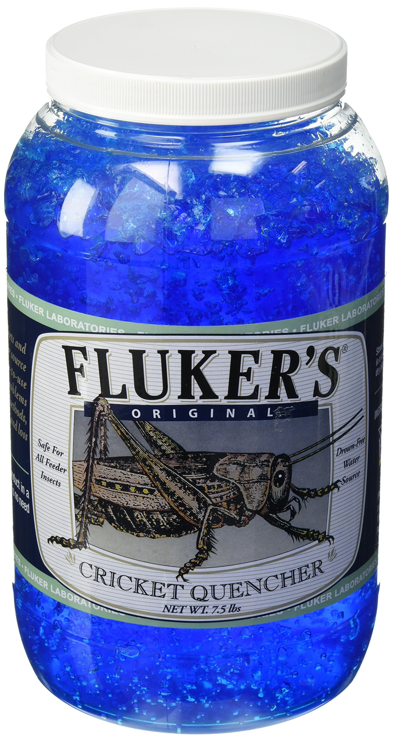 Fluker Labs SFK71202 Original formula Cricket Quencher, 7.5-Pound