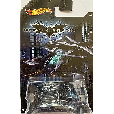 Hot Wheels, 2015 Batman, Batman: The Dark Knight Rises Movie The Bat Exclusive Die-Cast Vehicle #5/6: Toys & Games