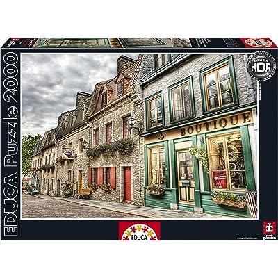 Puzzles Educa - Barrio Petit Champlain, Puzzle de 2000 Piezas (16012): Juguetes y juegos