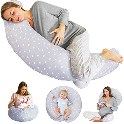 Amazon.com: Bamibi - Almohada de embarazo y lactancia ...
