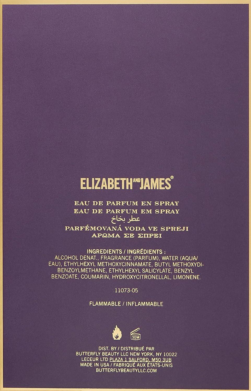 Elizabeth and James Nirvana Amethyst Eau de Parfum Spray for Women, 3.4 Ounce