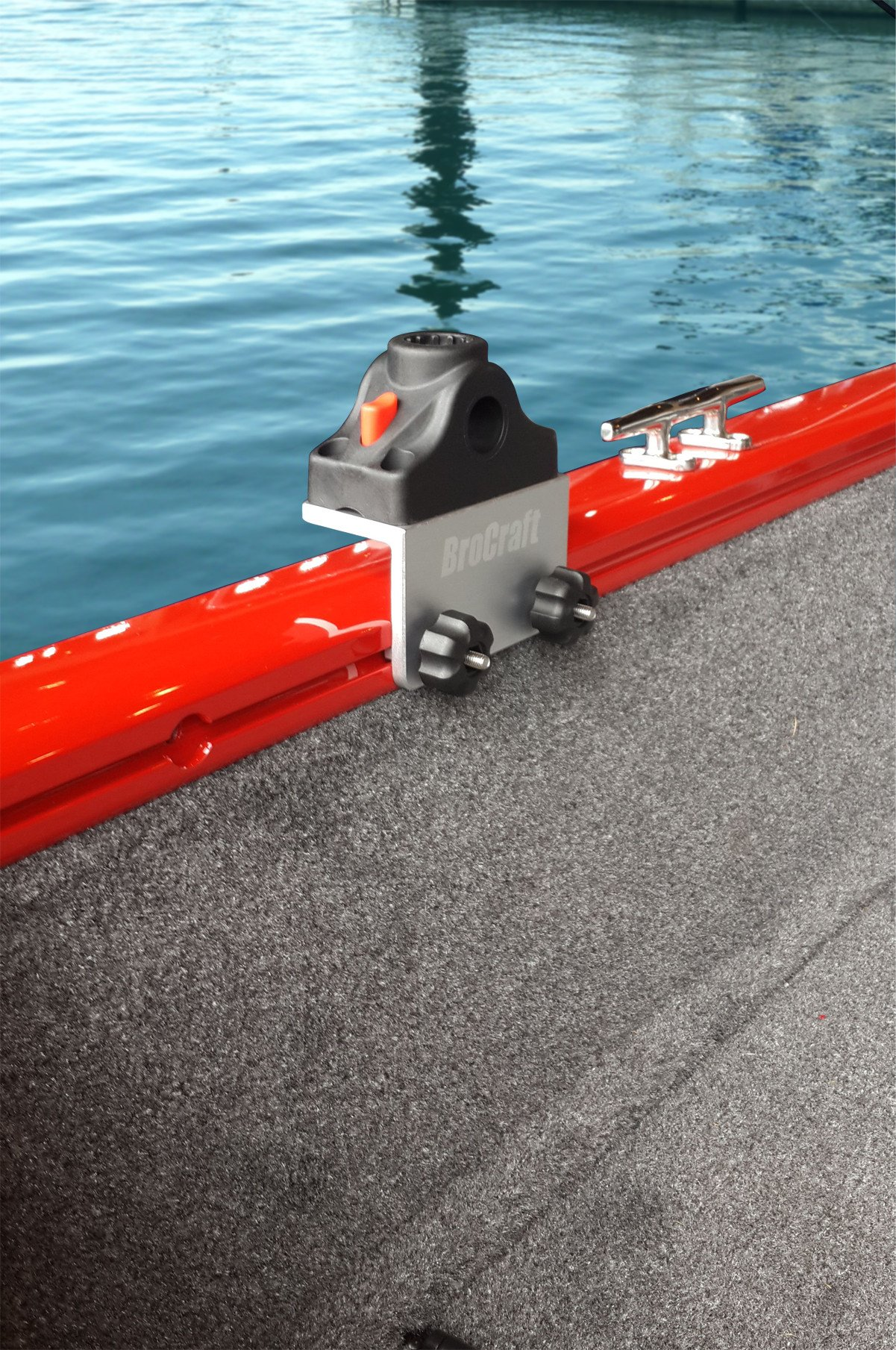 Brocraft Universal Track Bracket for Tracker Boat Versatrack System by Brocraft