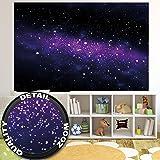 Kleistertapete foto tapete nachthimmel kt470 panorama for Dekoration universum