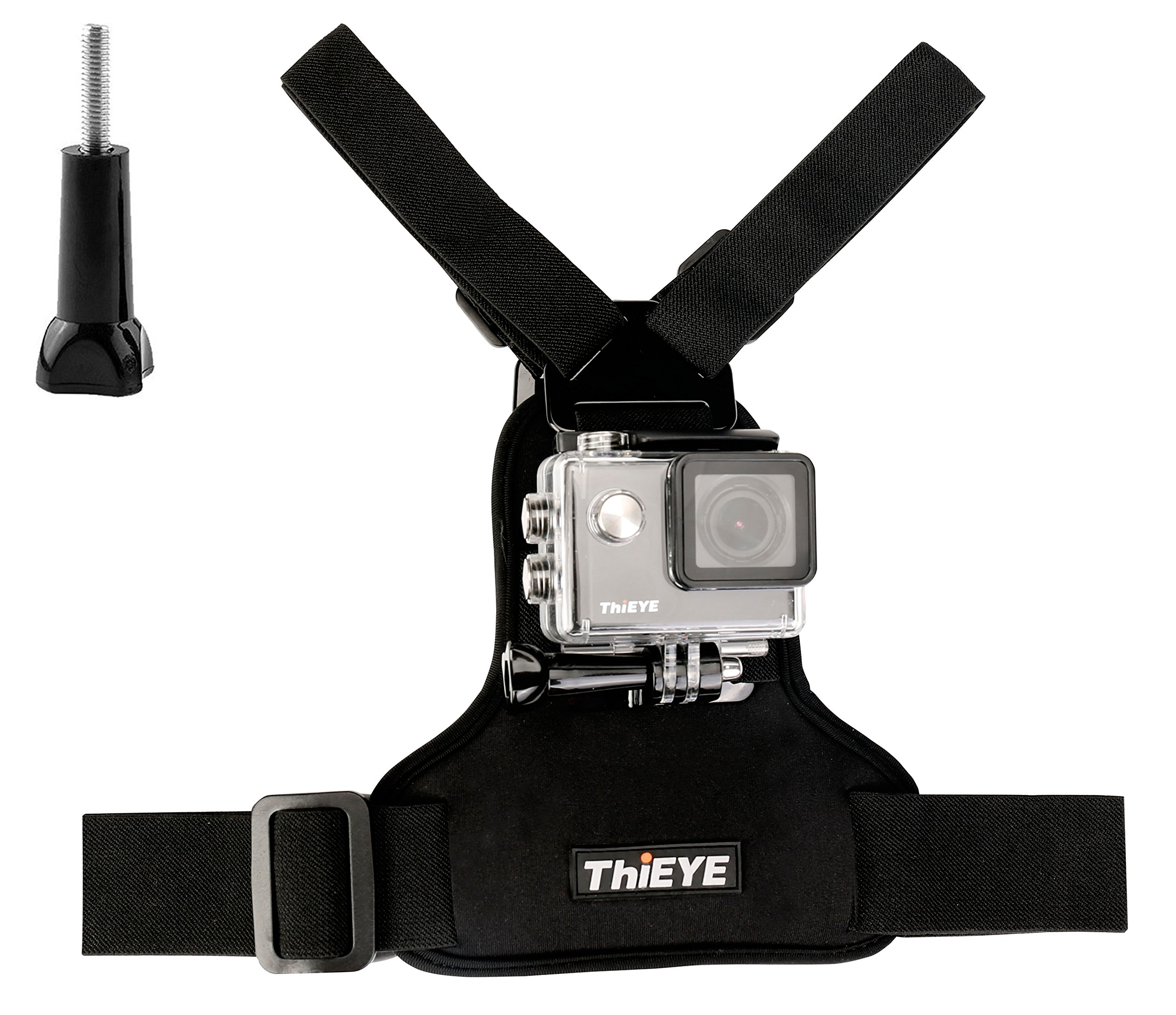 ThiEYE Universal Adjustable Chest Mount Harness With Thumb Screw for Spors Action Cameras
