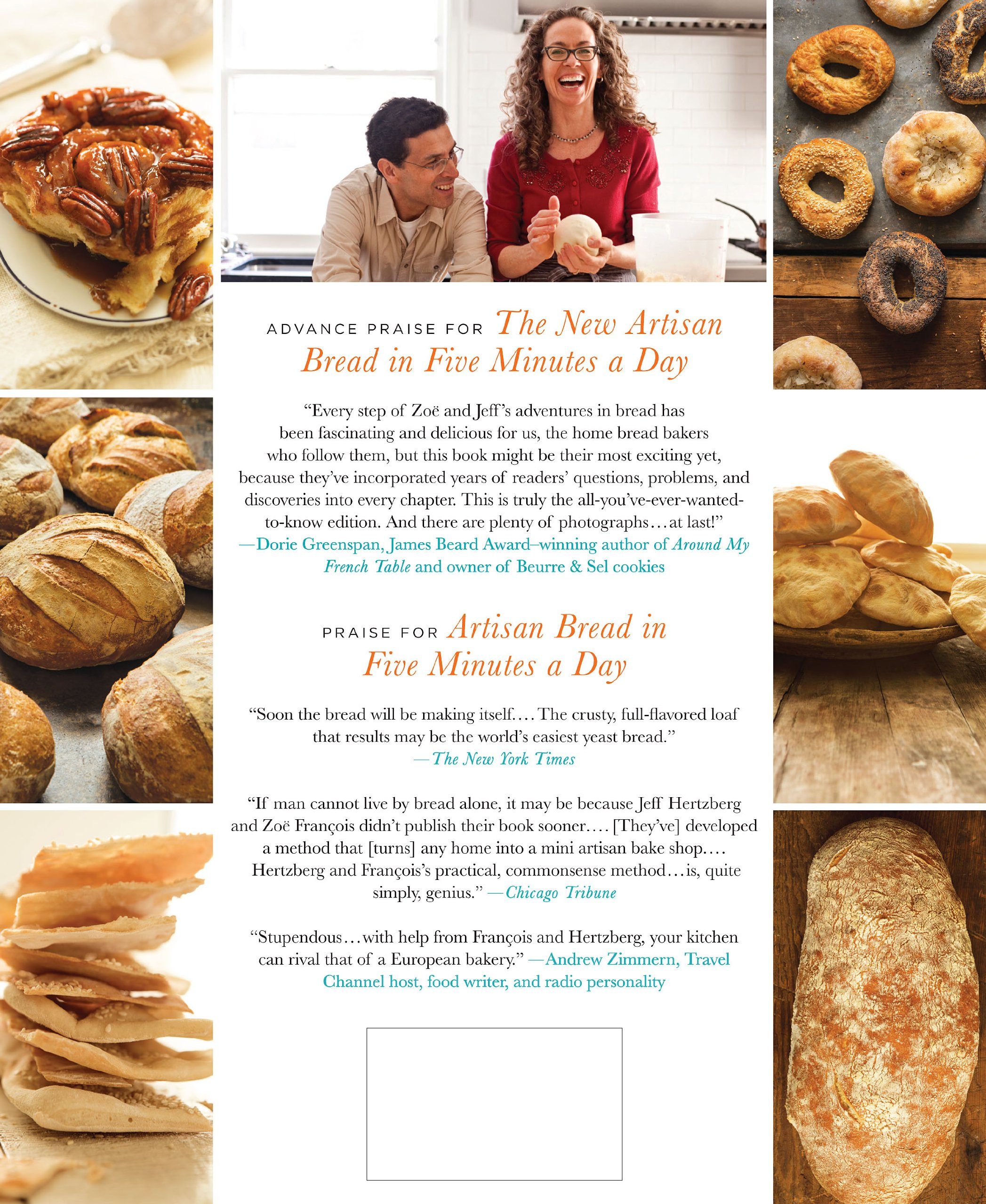 The New Artisan Bread In Five Minutes A Day Discovery That Revolutionizes Home Baking Jeff Hertzberg MD Zoe Francois Stephen Scott Gross