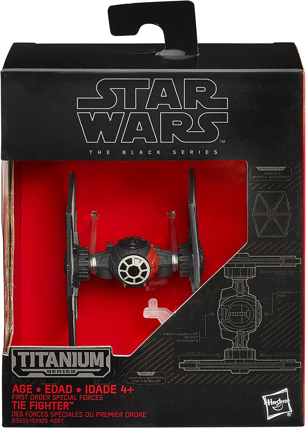 First Order Special Forces Tie Fighter 01 STAR WARS Black Series MIB NEW