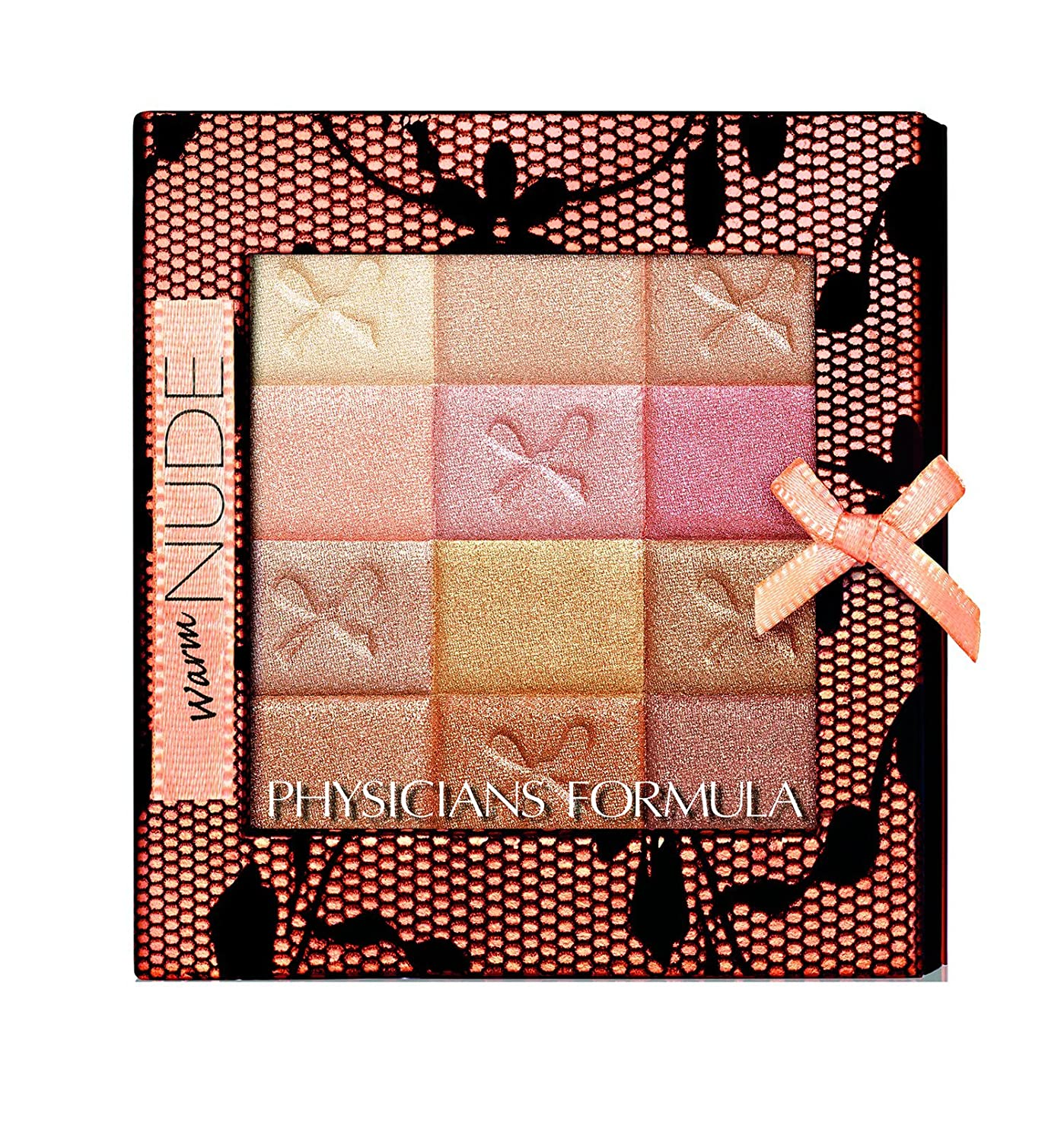 Physicians Formula Shimmer Strips All-In-1 Custom Nude Palette For Face & Eyes - Natural Nude - 0.26 oz 6240E