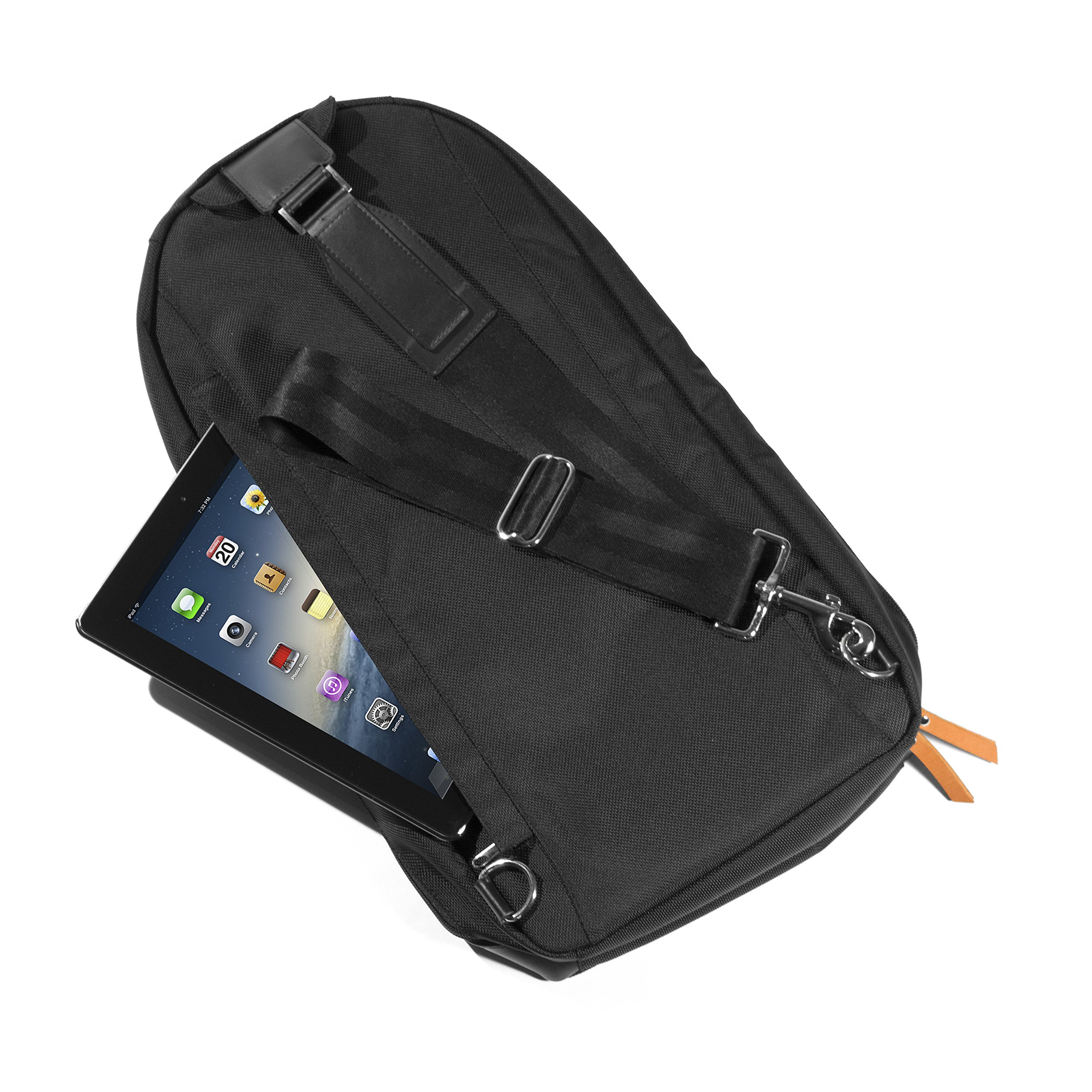 M(sqd) Roundsman Chef Knife Bag, Holds 17 Knives and Utensils with 3 Pockets for Tablet and Notebook by M(sqd) (Image #3)