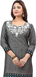 Women Fashion Casual Short Indian Kurti Tunic Kurta Top Shirt Dress 177A