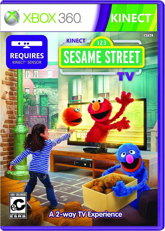 amazon com kinect sesame street tv xbox 360 microsoft rh amazon com Kinect Sports Games Kinect Sports Games