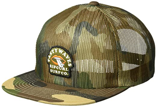 Rip Curl Mens Tasty Waves Trucker, camo, ...