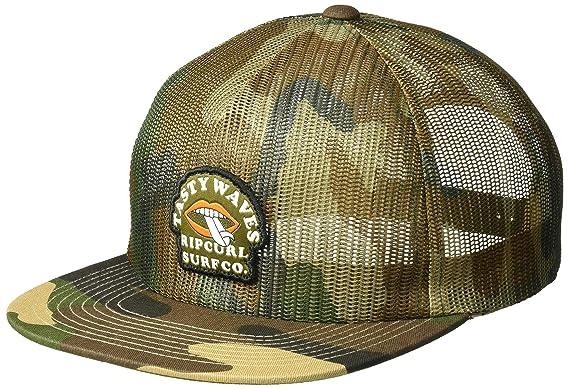 45a01f60 Rip Curl Men's Tasty Waves Trucker Hat Camo, One Size: Amazon.co.uk ...