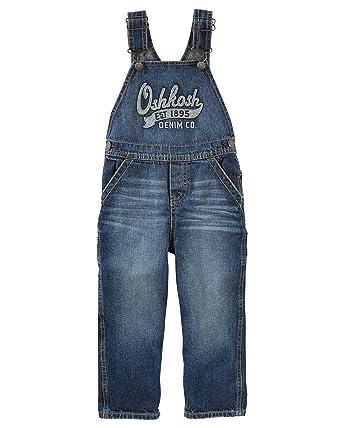 dba9aa17c48a Amazon.com  OshKosh B Gosh Boys  2T-4T Denim Overalls  Clothing